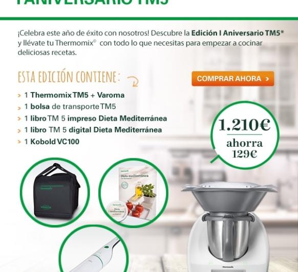 EDICIÓN ESPECIAL I ANIVERSARIO Thermomix®