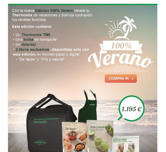 Thermomix® TM5, Edición 100% Verano